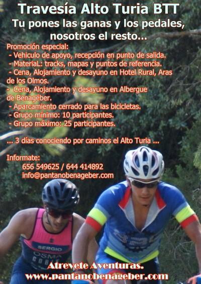Nuevo: BTT Recorre el Alto Turia - Travesía 3 días - 5 pueblos - Blog Senderos en Valencia, andando por caminos e Historia