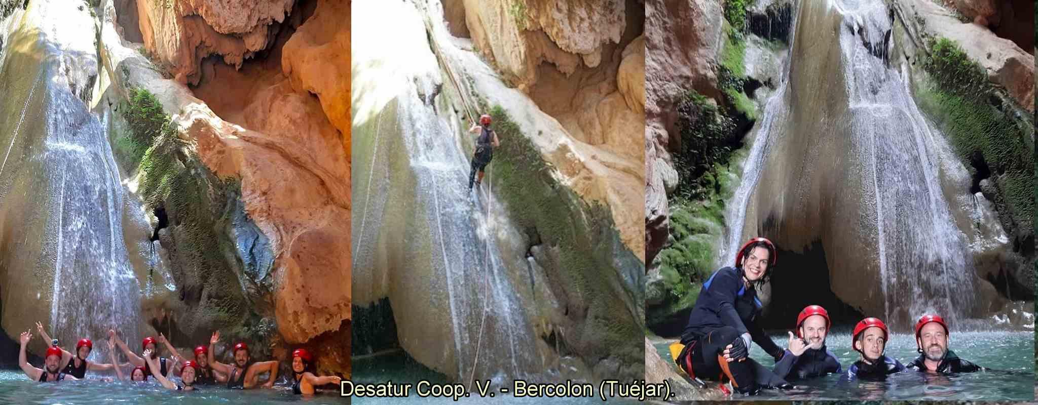 Descens de Barrancs - Bercolon a Tuéjar (València)