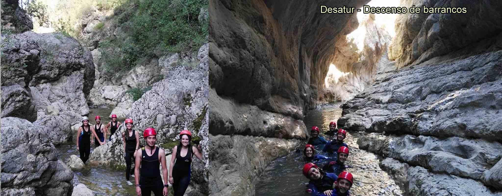 Descenso de Barrancos - Bercolon en Tuejar (Valencia)