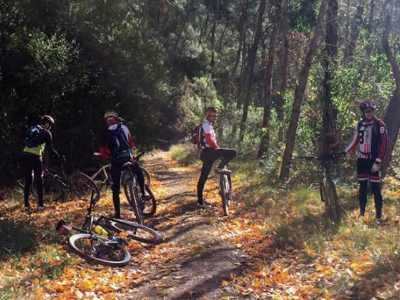 Mountain bike trip through the Alto Turia Biosphere Reserve: Benagéber, Aras de los Olmos, Chelva, Tuéjar y Titaguas.